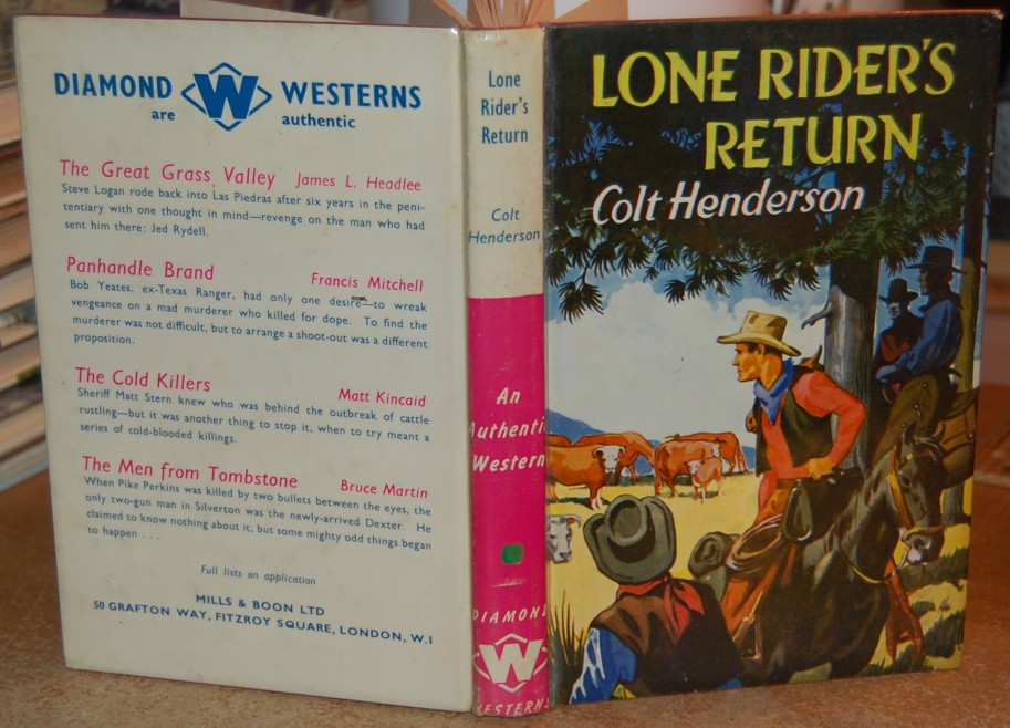 Image for Lone Rider's Return