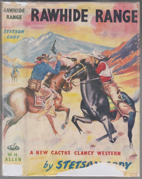 Image for Rawhide Range  A New Cactus Clancy Western