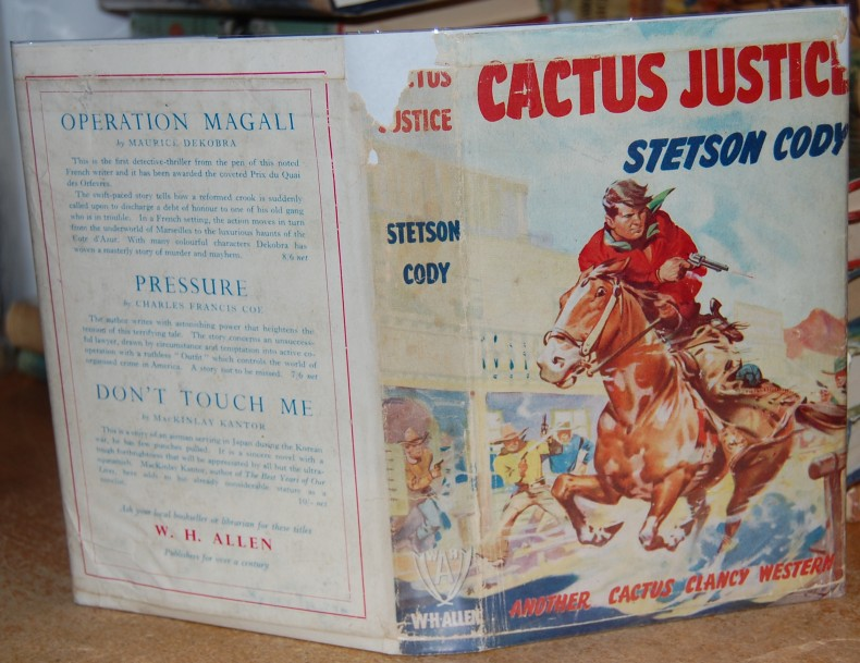 Image for Cactus Justice   Cactus Clancy Western