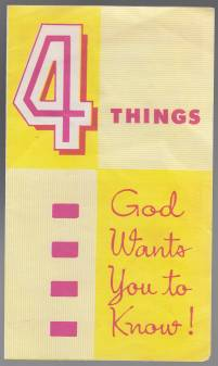 Image for 4 Things God Wants You To Know