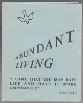 Image for Abundant Living Tract