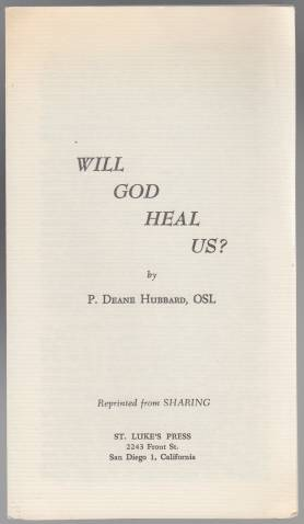 Image for Will God Heal Us?
