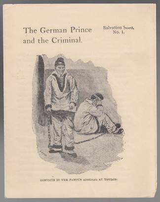 Image for The German Prince and the Criminal Salvation Seed No. 1