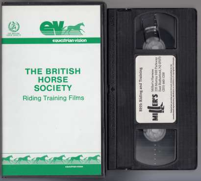 Image for BHS: Riding and Training VHS TAPE