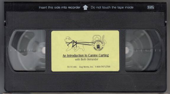 Image for An Introduction to Canine Carting  VHS TAPE
