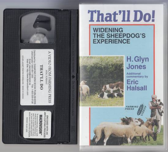Image for That'll Do! Widening the Sheepdog's Experience. Sheepdog Training VHS Tape
