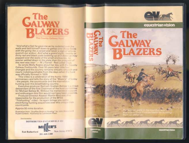 Image for The Galway Blazers, The County Galway Hunt VHS TAPE