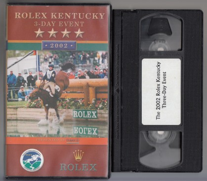 Image for Rolex Kentucky 3-Day Event 2002  VHS Tape