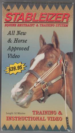 Image for Stableizer Equine Restraint & Training System  VHS New Sealed