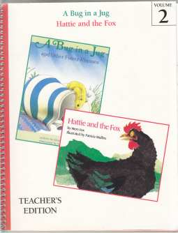 Image for A Bug in a Jug and Hattie and the Fox  Along Came the Fox Vol. 2. Grade 1-1 Teacher's Edition